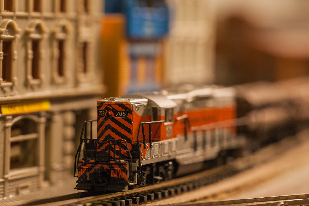 Day 316/1410 - Now that the trains are running, we need to get back to work on some new scenery.