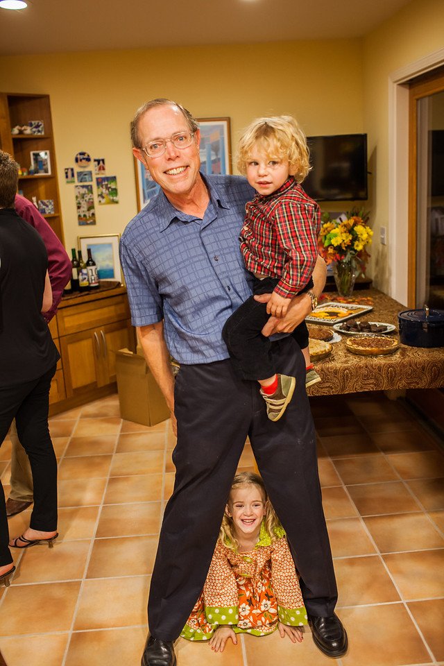 Day 331/1426 - Grandpa might have a little trouble carving the turkey with these two after him.
